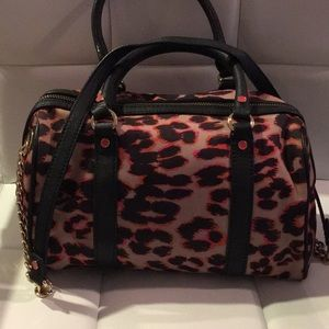Juicy Couture Sassy Purse.  Pink 🐆 leopard Print.